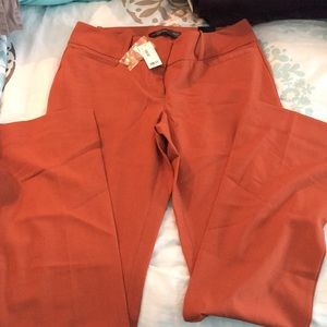 Drew fit, low rise bootcut dress pants, NWT